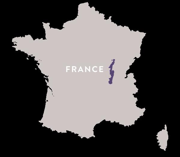 Map France Burgundy Regal Wine Imports