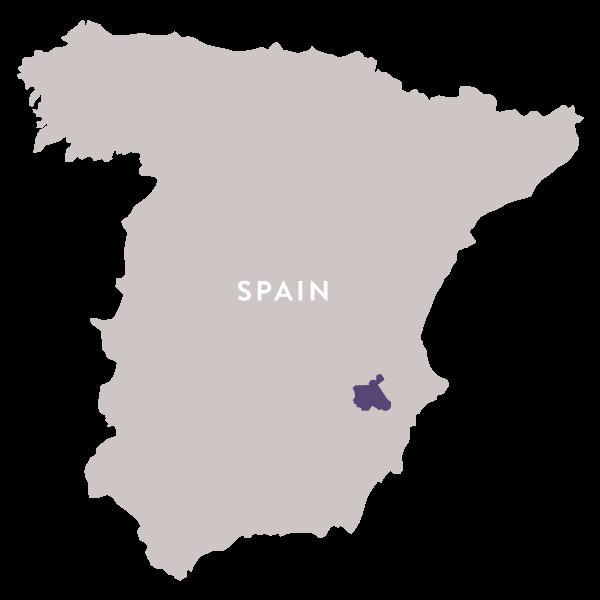 Map Spain Jumilla Regal Wine Imports