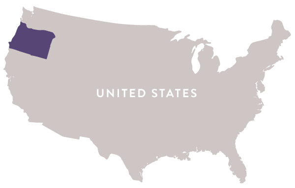 Map-USA-Oregon - Regal Wine Imports