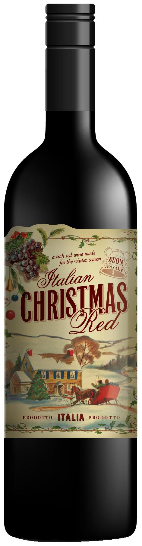Boglione Christmas Red